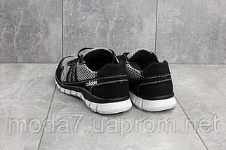 Кроссовки мужские CrosSAV 23 черные-серые (текстиль, лето), фото 3