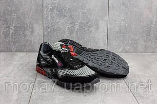 Кроссовки мужские CrosSAV 18 черные-серые (текстиль, лето), фото 2
