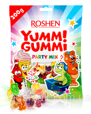 Желейные конфеты YUMMI GUMMI PARTY MIX