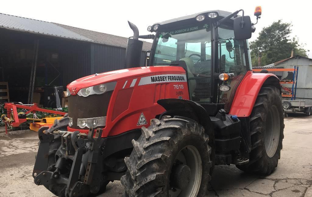 Трактор Massey Ferguson 76181 2016 г.в.