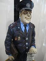 Оригинальная эксклюзивная статуэтка Милиционер (Ордер на арест)