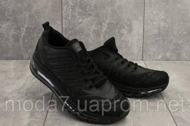 Кроссовки мужские Classica G 5102 -6 черный (текстиль, весна/осень), фото 2