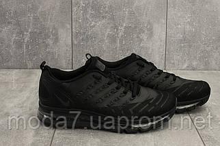 Кроссовки мужские Classica G 5102 -6 черный (текстиль, весна/осень), фото 3