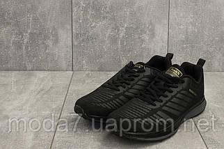 Кроссовки мужские M 712 -1 (Baas Sport) черный (текстиль, весна/осень), фото 2