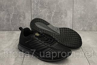 Кроссовки мужские M 712 -1 (Baas Sport) черный (текстиль, весна/осень), фото 3