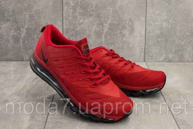 Кроссовки мужские Classica G 5102 -1 красный (текстиль, весна/осень), фото 2