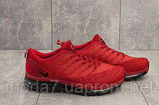 Кроссовки мужские Classica G 5102 -1 красный (текстиль, весна/осень), фото 3