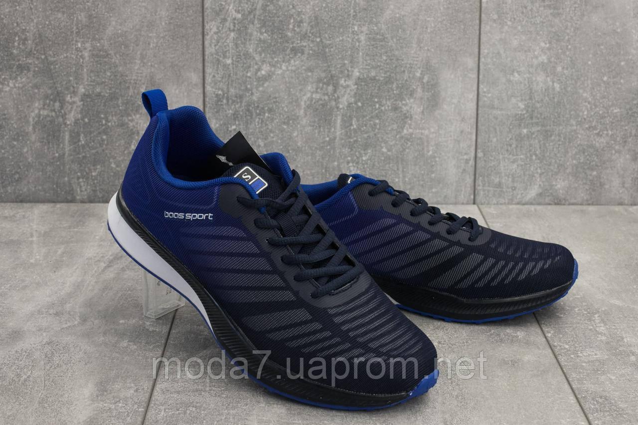 Кроссовки мужские M 712 -3 (Baas Sport) синий (текстиль, весна/осень)