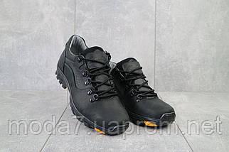 Повседневная обувь мужские Yuves 559 черные (натуральная кожа, весна/осень), фото 3