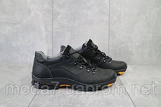 Повседневная обувь мужские Yuves 559 черные (натуральная кожа, весна/осень), фото 2