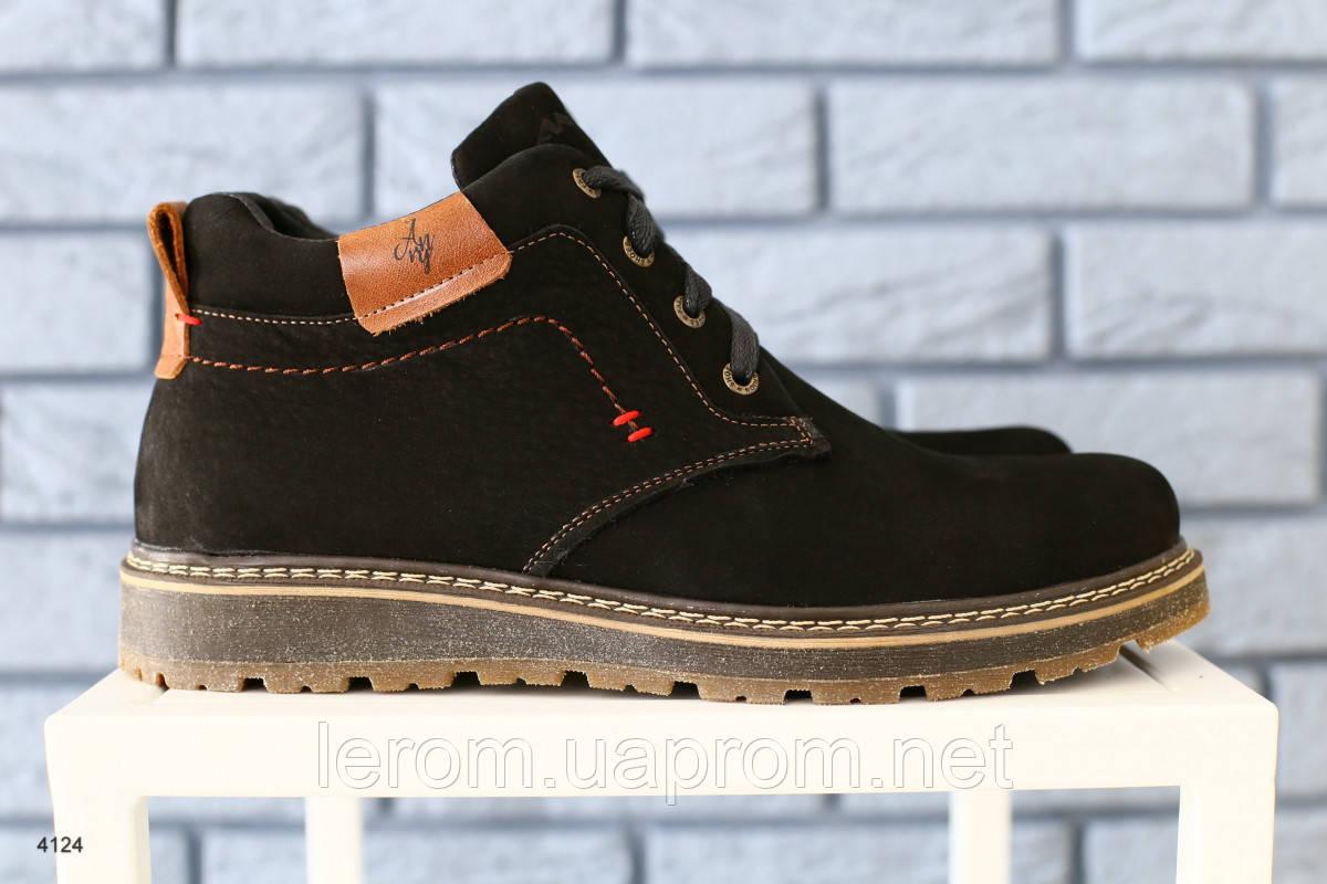 Ботинки мужские зимние, на шнурках 40