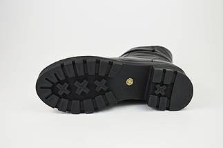 Ботинки зимние на каблуке кожаные 34,35 размеров Erises 808201, фото 3