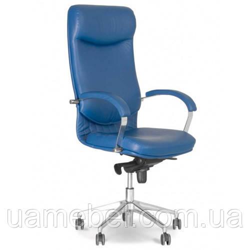 Крісло для керівника VEGA (ВЕГА) STEEL CHROME