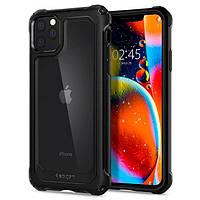 Чехол Spigen для iPhone 11 Pro Gauntlet, Carbon Black (077CS27515), фото 1