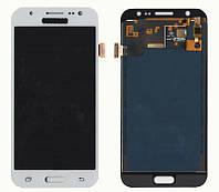 Дисплейный модуль (экран) для Samsung J500H Galaxy J5 Белый LCD TFT