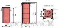 FAAC J275 SA H600 INOX боллард (полуавтоматический), фото 2