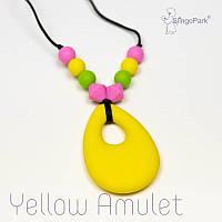 Силиконовые слингобусы Yellow Amulet BABY MILK TEETH