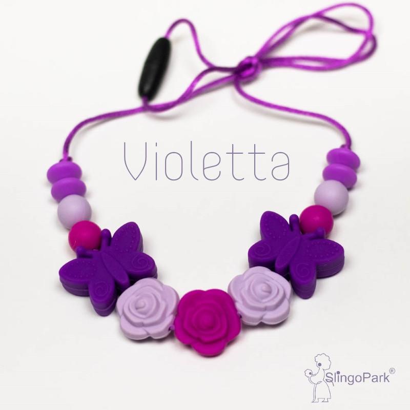 Силиконовые слингобусы Violetta BABY MILK TEETH