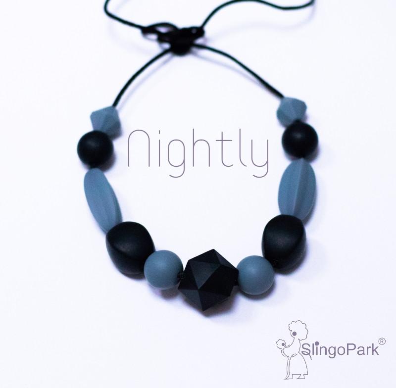 Силиконовые слингобусы Nightly Violetta BABY MILK TEETH