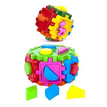 "Набор ""Сортер шестигранник и сортер куб"" KW-50-107"