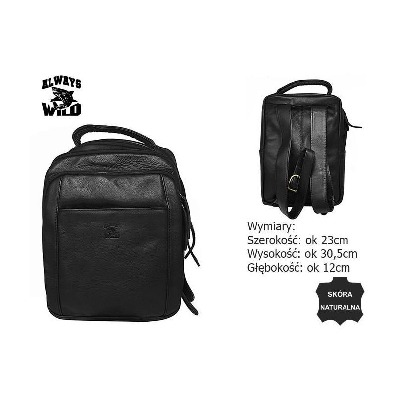 Рюкзак мужской Always Wild 4055-S BLACK