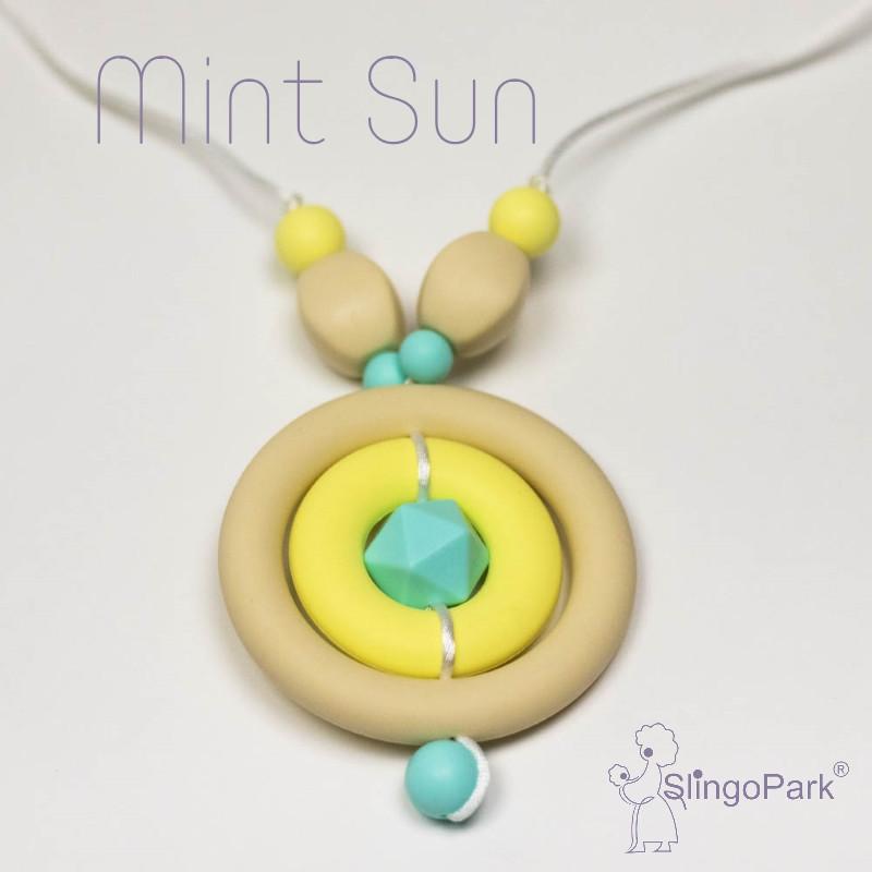 Силиконовые слингобусы Mint Sun BABY MILK TEETH