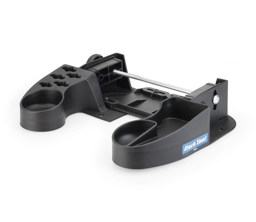 Подставка Park Tool для станка для центровки колес с отсеками для мелких деталей и гаечных ключей