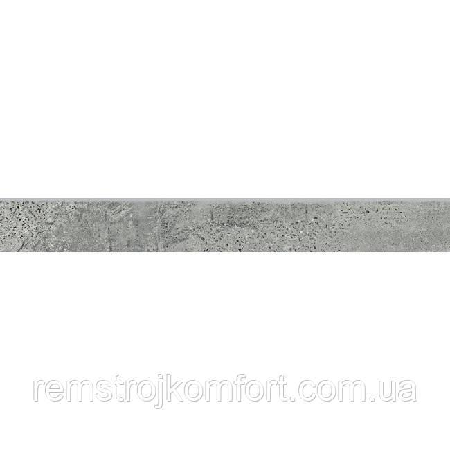 Бордюр (Плинтус) Opoczno Newstone grey (SKIRTING) 7,2х59,8