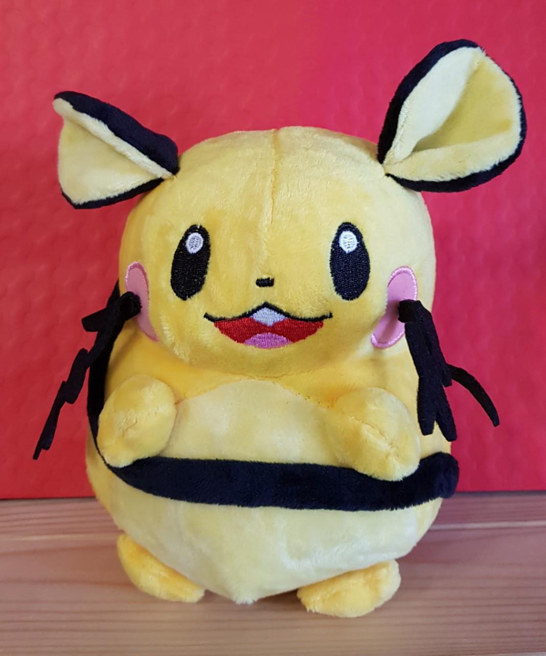 Мягкая Игрушка Деденне Покемон ( Dedenne) плюшевая игрушка, 22 см