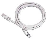 Кабель Патч-корд 1 метр Витая Пара (обжатый с обоих сторон) 4х2х0,5 (FTP-cat.5E) RJ45 8P8C Сетевой шнур LAN