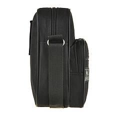 Мужская сумка-барсетка Wallaby 16х21х10 ткань оксфорд 600Д черный цвет   в 2661, фото 3