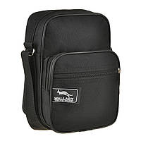 Мужская сумка-барсетка Wallaby 16х21х10 ткань оксфорд 600Д черный цвет   в 2661