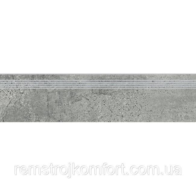 Ступень Opoczno Newstone grey (STEPTREAD) 29,8х119,8