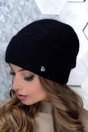 Шапка женская Flirt Пенелопа One Size черная, фото 2