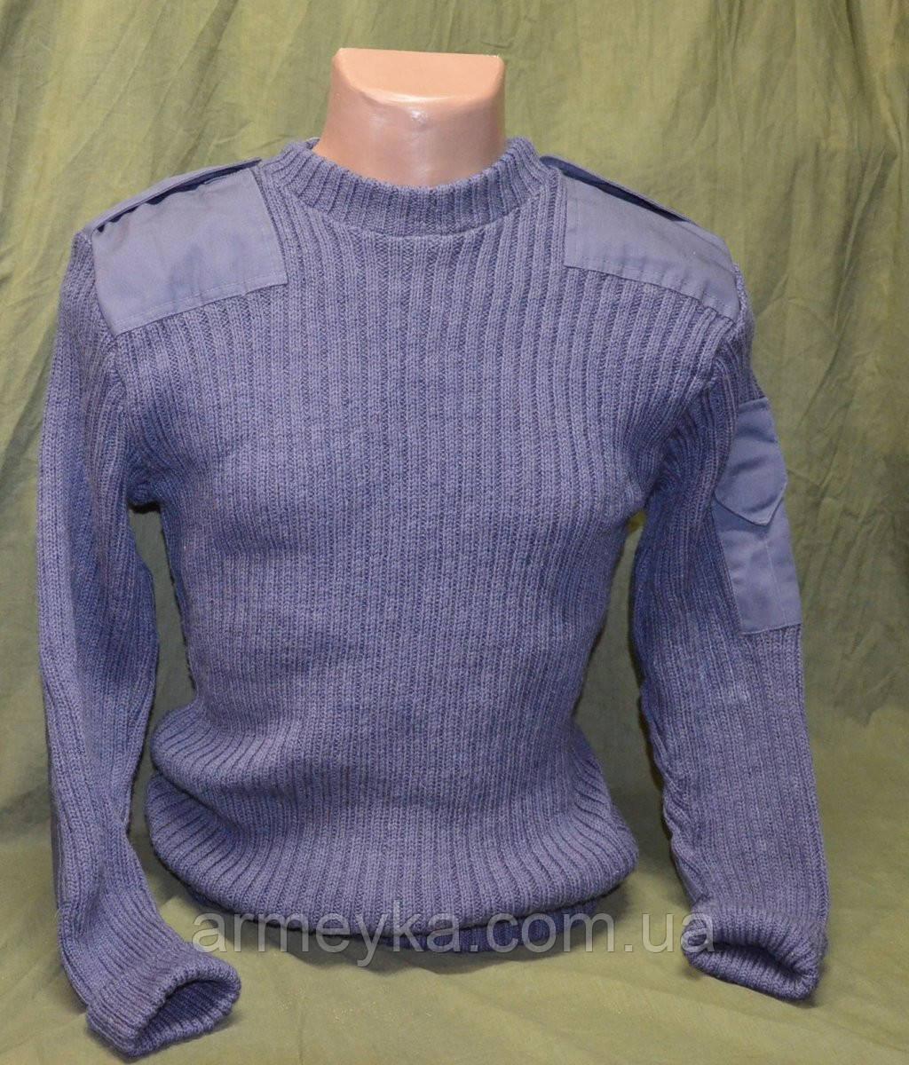 Шерстяной свитер, серый. НОВЫЙ. Британские ВС, оригинал.
