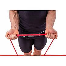 Гумка для фітнесу 7-16 кг HS-L013RR red, фото 3