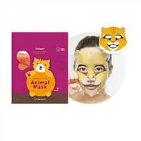 Тканевая маска BERRISOM Animal Mask Кот