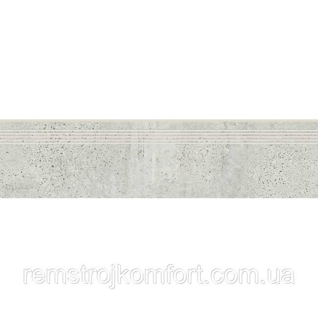 Ступень Opoczno Newstone light grey (STEPTREAD) 29,8х119,8