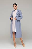 Камельфо пальто ангора (Голубой)