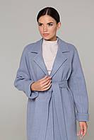Камельфо пальто ангора (Голубой), фото 1