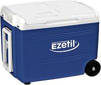 Автохолодильник на колесах 40 л, Ezetil E-40 M 12/230V (термобокс - мини холодильник в машину), фото 1