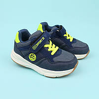 Кроссовки детские для мальчика синие тм Том.м размер 21,22,23,24,25,26