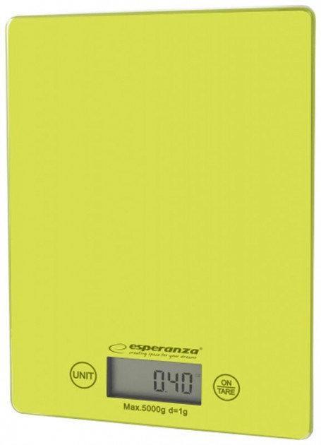 Весы кухонные Esperanza EKS002G Lemon green
