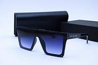 Солнцезащитные очки YSL 312 черные глянцевые, фото 1