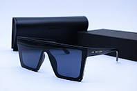 Солнцезащитные очки YSL 312 черные матовые, фото 1