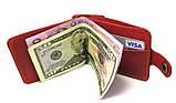 Зажим для денег DNK Leather DNK Зажим-H мелочь col.H, фото 7