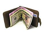 Зажим для денег DNK Leather DNK Зажим-H col.G, фото 4