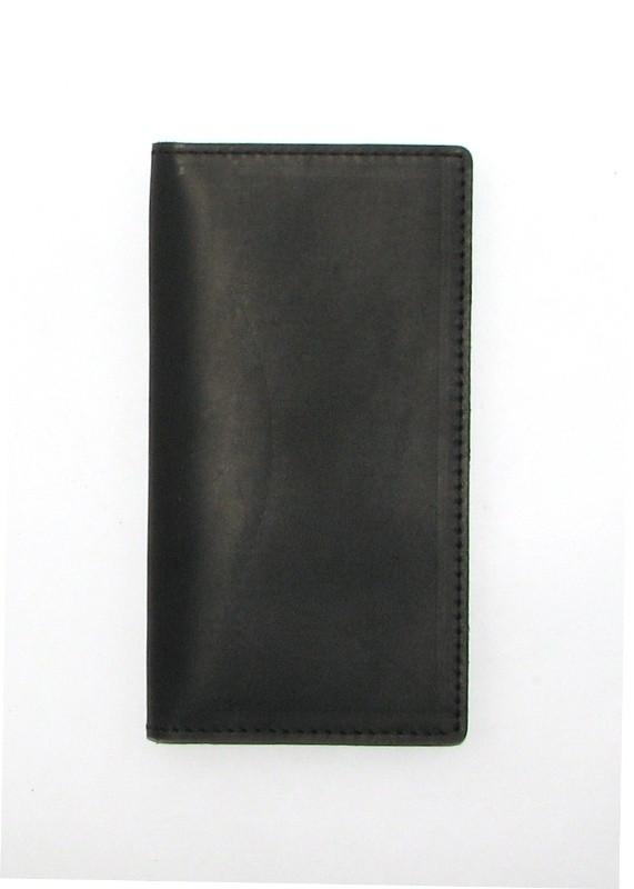 Кошелек портмоне кожаный DNK Leather Big Purse черный