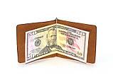 Зажим денег DNK Leather DNK Зажим пружина-H col.N, фото 3
