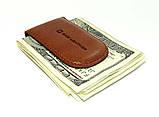 Зажим для денег DNK Leather DNK Klip magnes-A col.Foxy, фото 3